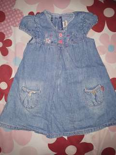 Dress jeans anak 3-4thn