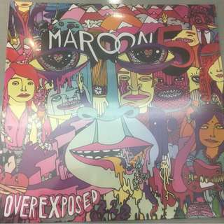Maroon 5 ‎– Overexposed, Brand New Vinyl LP , A&M Octone Records ‎– none, 2012, USA