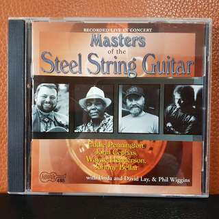 CD》Masters Of The Steel String Guitar