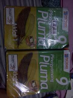 Pluma book aklat 1 and 2