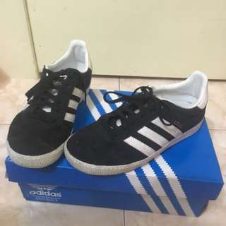Adidas Gazelle Black and White ORIGINAL