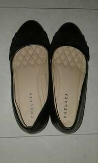 Wedge Black Shoes (Chelsea)