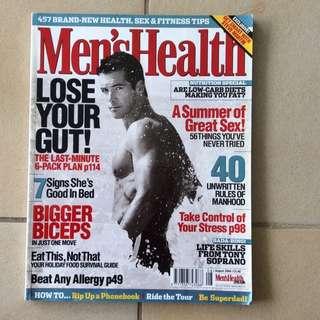 Old Men's Health Magazines