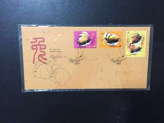 Singapore FDC year of rabbit 2011