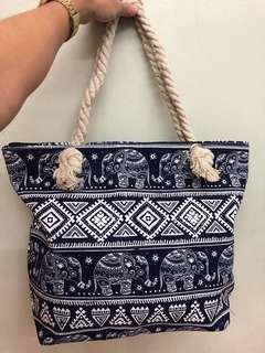 Elephant Printed bag