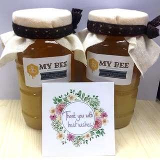 (美顏滑肌減肥通便) 純天然蜜糖自採農家蜂蜜  (每天2.5元)