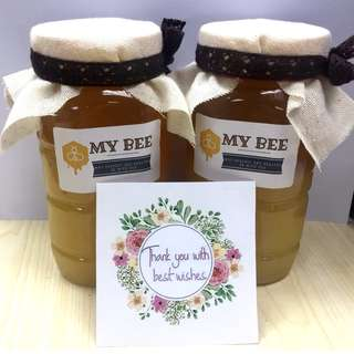 (約2個月份量) 純天然蜜糖自採農家蜂蜜 健康 香甜好飲