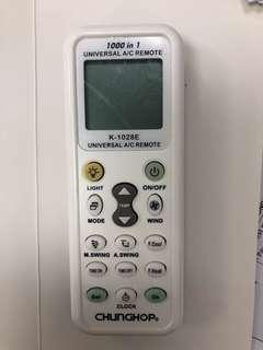 Universal Air condition Remote