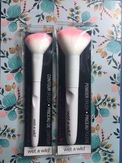 Wet N Wild brushes