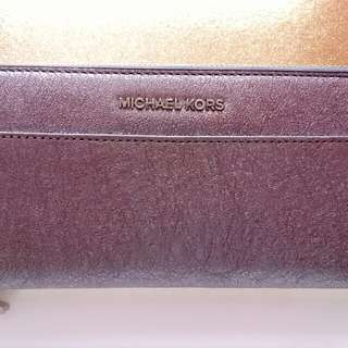 For sale: Michael Kors wallet (silver)