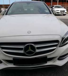 Mercedes Benz C200 cbu low mileage 4+k rm179000 Lucas 0166337613