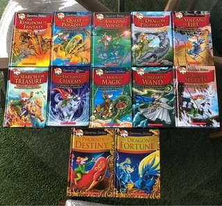 Geronimo Stilton Hard cover The Kingdom of Fantasy series