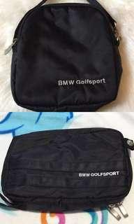 Genuine BMW Golfsport Clutch Bag