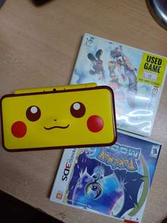NITENDO 2DS XL PIKACHU LIMITED EDITION