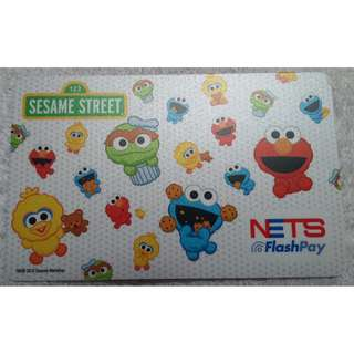 BRAND NEW Sesame Street Nets Flashpay card (Encoded with $0.00)