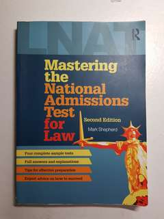 LNAT Practice Book Law National Admissions Test
