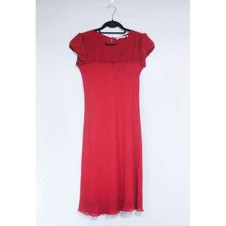 Free SF Paper Dolls Classic Long Red Dress