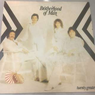 Brotherhood Of Man – Twenty Greatest, Vinyl LP , Pye Records – NSPL 18591, 1981, UK