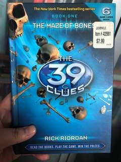 The 39 Clues (Book 1) by Rick Riordan