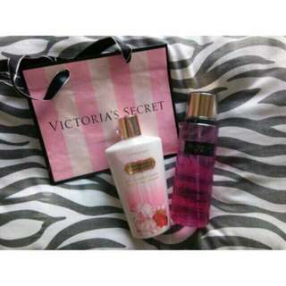 ORIG from US VS Strawberry Champagne Scent Perfume & Lotion