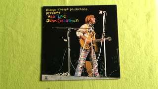 JOHN SEBASTIAN . real live. Vinyl record