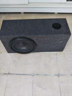 "Orion XTR Pro 12"" in ported subwoofer box"