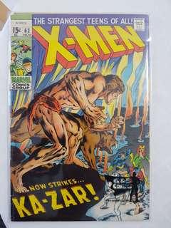 X-men 62 (vol1) 1969