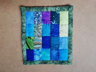 Handmade patchwork coaster table deco tea cosies made to order