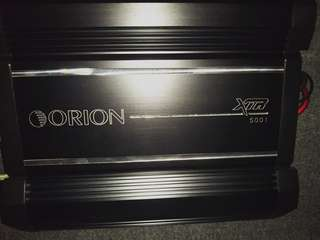 Orion XTR-5100 amp