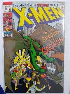 X-men 60 (vol 1) 1969