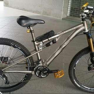 MTB Bike Lynskey PRO 650 Titanium