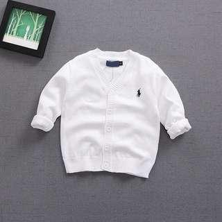 [BNWT] Raplph Lauren inspired Unisex Baby Cardigan