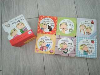 Charlie & Lola little library Story Books