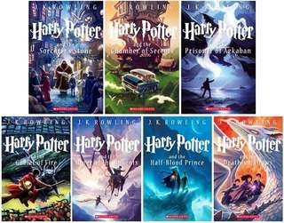 Harry Potter series eBook