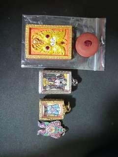 Kruba Krissana Butterfly  Thai Amulet