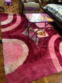 Girls' Room Carpet (Pink)
