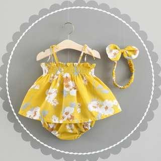 Summer Floral Sets for Babies