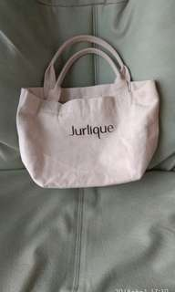 Jurlique canvas small tote bag