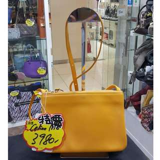 Celine Small Trio Yellow