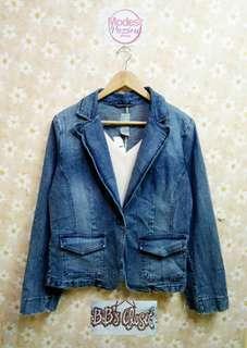 Bb Closet Denim Blazer Jacket