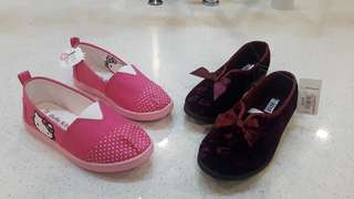 2 pairs of New Shoes for girl