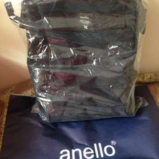 REPRICED!!! All Black Anello Backpack