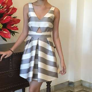 Topshop Gray Dress (worn once) (janella and maxene wore a same one like this)