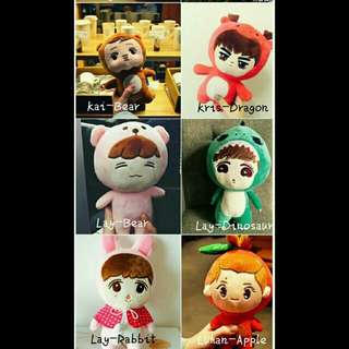 Exo Unofficial Doll