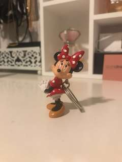 Authentic Disney Minnie Mouse Souvenir Key Ring from Disneyland, America (2014/15 from a friend)