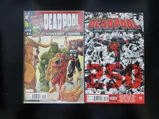 Deadpool (vol. 3) #250 (#45) Reg + Variant