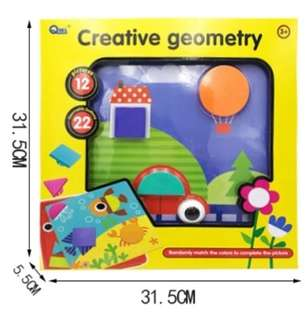 Creative Geometry Puzzle - Free Postage