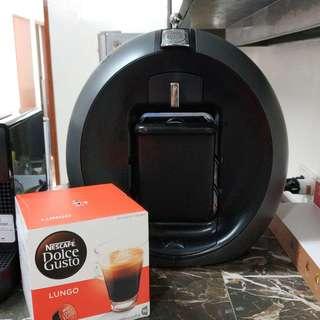 Nescafé Dolce Gusto Circolo with free box of Lungo