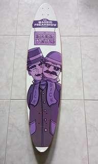 Madrid siamese twins longboard