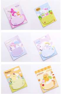 Sanrio edition : Sticky Notes | Post-its Notes